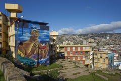 Valparaiso, gioiello del Pacifico Fotografia Stock