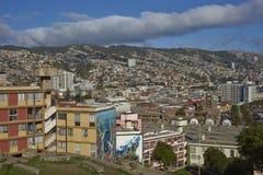 Valparaiso, gioiello del Pacifico Fotografia Stock Libera da Diritti
