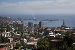 Valparaiso Harbour Royalty Free Stock Photography
