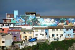 Valparaiso Mural Royalty Free Stock Photos