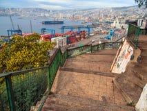 Valparaiso, o Chile Imagens de Stock Royalty Free