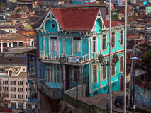 Valparaiso, o Chile Imagens de Stock