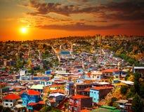 Valparaiso, o Chile Fotografia de Stock Royalty Free