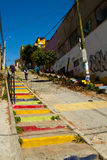 Valparaiso Streets Stock Photography