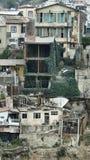 Valparaiso wat niet, de binnenplaats wordt gezien stock foto