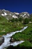 Valpelline, Aosta Valle, Ιταλία Γενική άποψη, θερινός καιρός Στοκ Εικόνες