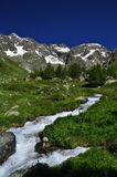 Valpelline, Aosta Valle, Italy. General view, summer weather Stock Photo