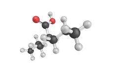 Valproiczuur, een medicijn hoofdzakelijk wordt gebruikt om epilepsie te behandelen die en Stock Foto's