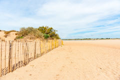 Valras Plage, beach in southern France Stock Image