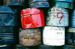Vals för bränslebehållare Royaltyfri Fotografi