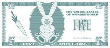 Vals geld stock illustratie