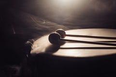 Vals och drumsticks Royaltyfria Bilder