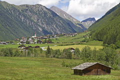 In Vals valley Stock Photo