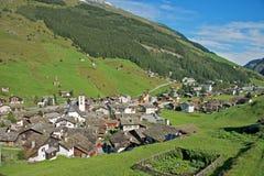 Vals, Zwitserland Stock Foto