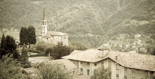 Valsassina, Lombardy, Italy Stock Photography
