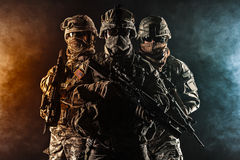 Valschermjagers luchtinfanterie Royalty-vrije Stock Afbeeldingen