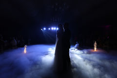 Valse de couples de mariage Photos libres de droits