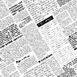 Valse krant royalty-vrije illustratie