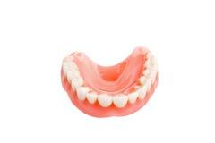 Valse plaatsvervangende tanden Royalty-vrije Stock Fotografie