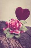 Valse rozenbloem Royalty-vrije Stock Afbeelding