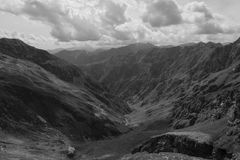 Valsesia włoscy alps halni Zdjęcia Stock