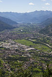 Valtellina panorama - Italy. Valtellina panorama, northern Italy, view from Tartano road Stock Photos