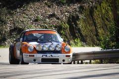 Valter Gomes drijft Porsche 911 Royalty-vrije Stock Afbeelding
