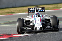VALTERI BOTTAS (WILLIAMS) - PROV F1 Royaltyfri Bild