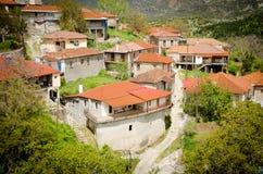 Valtessiniko village. Baltessiniko village located in  Arcadia, Peloponnese, Greece Royalty Free Stock Photos