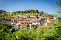 Valtessiniko village. Baltessiniko village located in Arcadia, Peloponnese, Greece Royalty Free Stock Photo