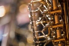 Valthorn under en klassisk konsertmusik fotografering för bildbyråer