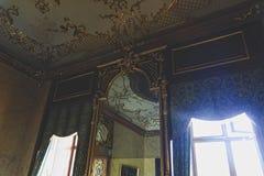 Valtice宫殿第18个c 在捷克,列支敦士登的支配的王子的前位子 建筑师约翰Erlach 图库摄影