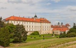 Valtice宫殿(第18个c ),捷克 免版税库存照片