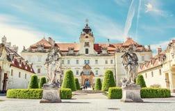 Valtice содержит одну из самых впечатляющих барочных резиденций, Стоковые Изображения RF