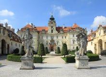 Valtice castle Stock Image