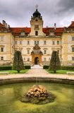 Valtice castle in Bohemia Royalty Free Stock Image