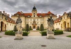 Valtice castle in Czech republic Stock Photo