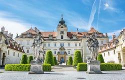 Valtice contém uma das residências barrocos as mais impressionantes o Foto de Stock
