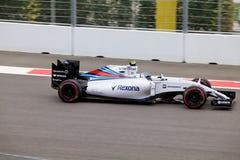 Valtteri Bottas гонок Williams Мартини Формула-1 Сочи Россия Стоковые Фотографии RF