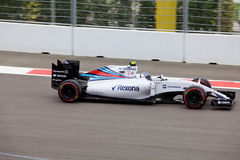 Valtteri Bottas av Williams Martini Racing Formel en Sochi Ryssland Royaltyfria Foton
