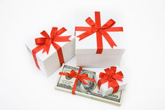 Valuable present Royalty Free Stock Photography