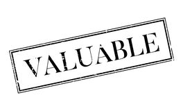 Valuable rubber stamp Royalty Free Stock Images