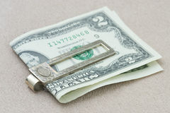 Valuable silver masculine accessory Stock Photo
