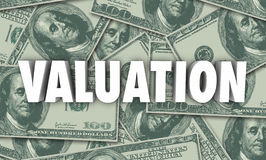 Valuation Money Background Company Business Worth Stock Photos