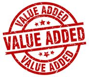 Value added stamp Stock Image