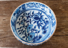 Value antique bowl Stock Photography