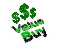 Value buy Royalty Free Stock Photo