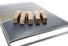 Value concept stock photo