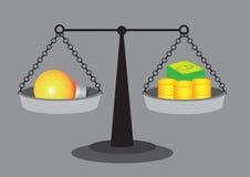 Value of Good Idea Vector Illustration Royalty Free Stock Photos