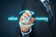 Value for money Stock Photography